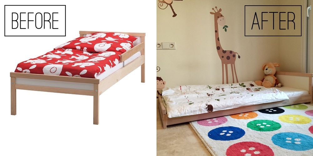 The Perfect Ikea Montessori Bed Mums Amp Babies