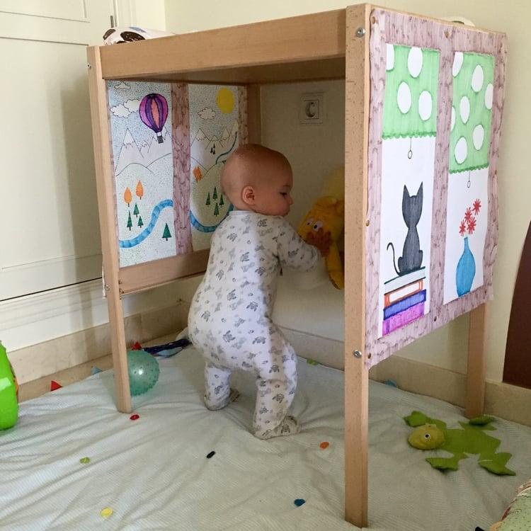 Como convertir el cambiador sniglar de ikea en una casita mam s y beb s productos la tela - Fasciatoio con bagnetto ikea ...