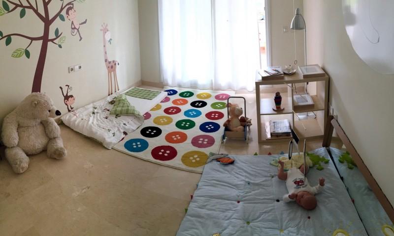 Camere Montessoriane : Cameretta montessori 0 6 mesi mamme & bimbi montessori la tela