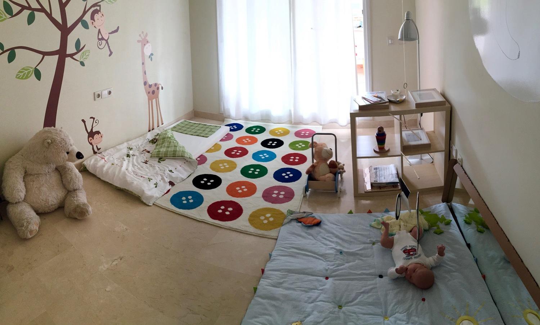 Cameretta Montessori 0 6 Mesi