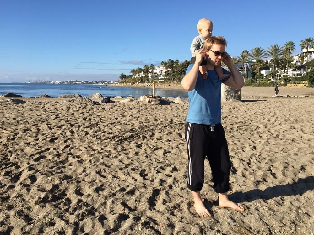 Best views with daddy! • Con papà le viste migliori
