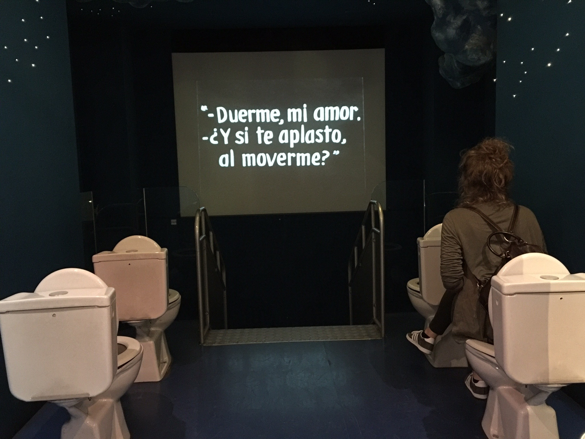 torino museum cinema toilet seats