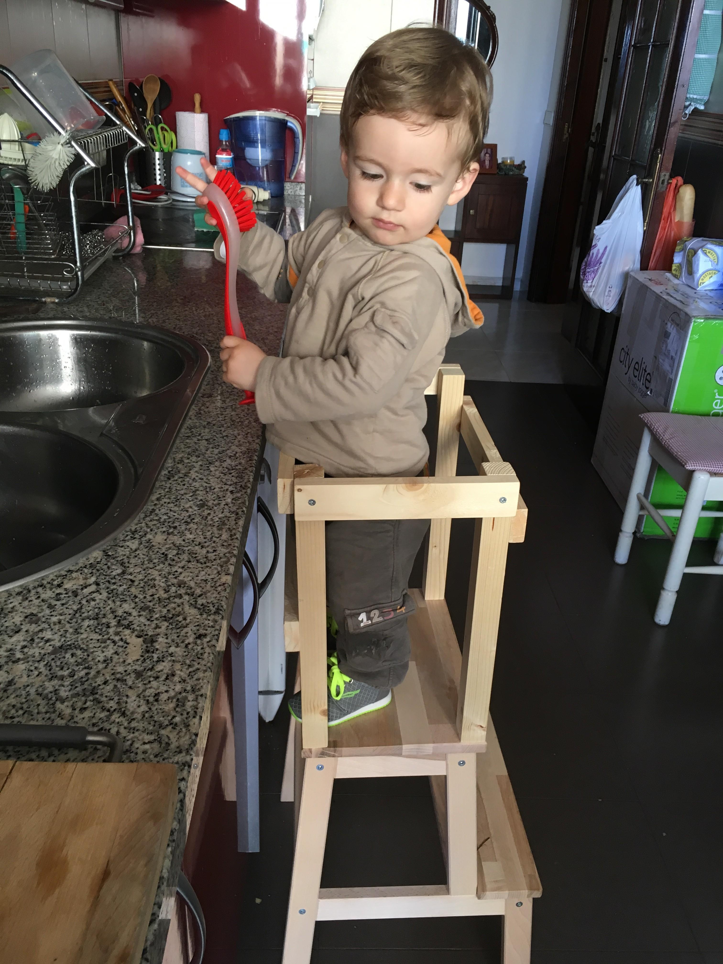 Torre Di Apprendimento Montessori Fai Da Te Laura Per