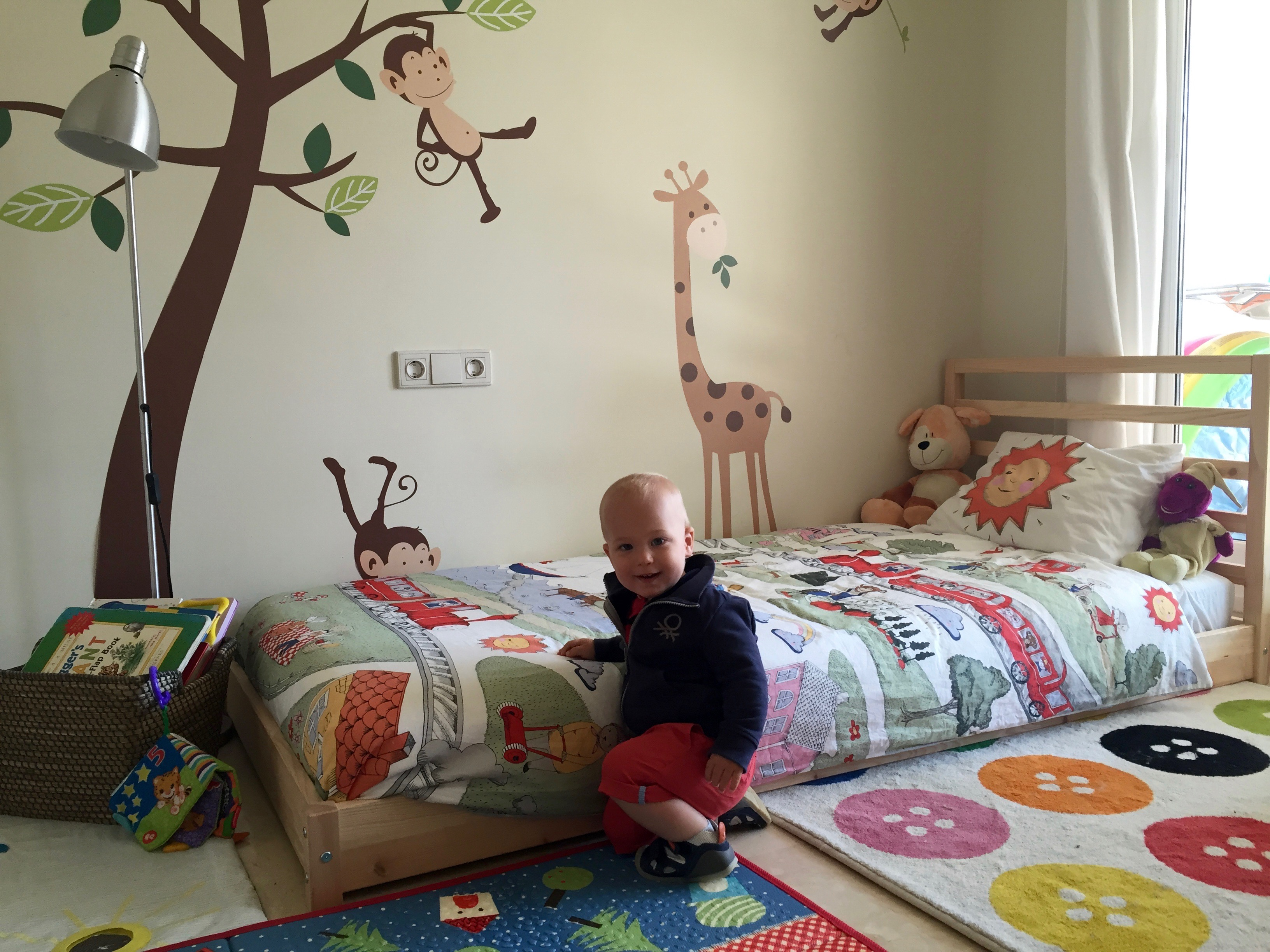 oliver montessori bed ikea height