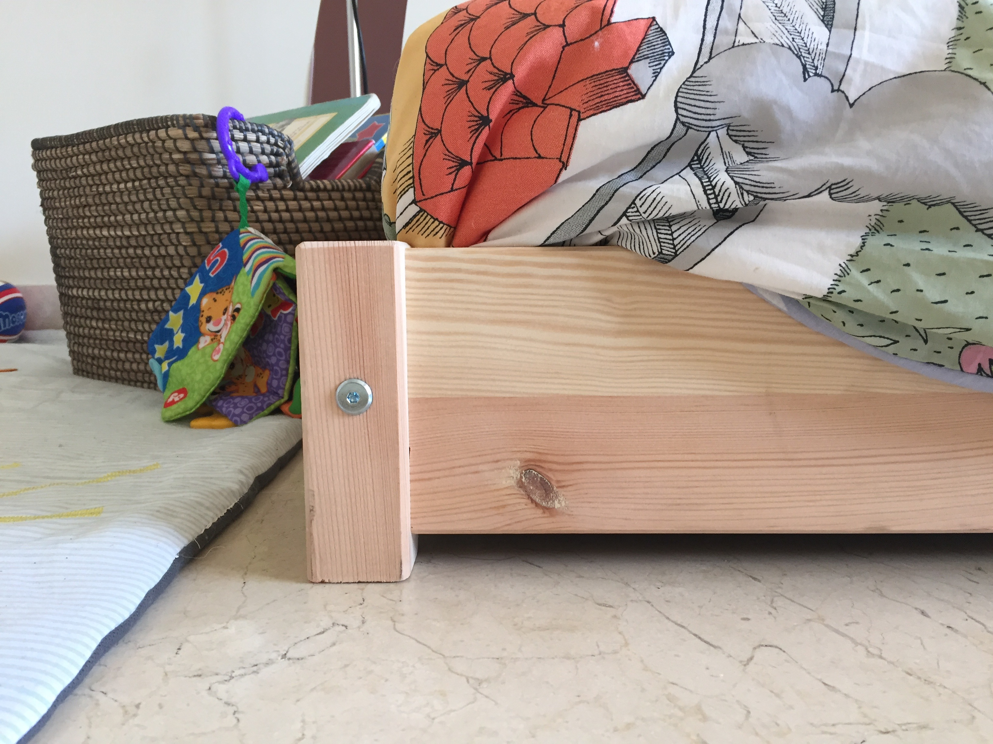 Ikea montessori bed big boy version - Letto montessori ...