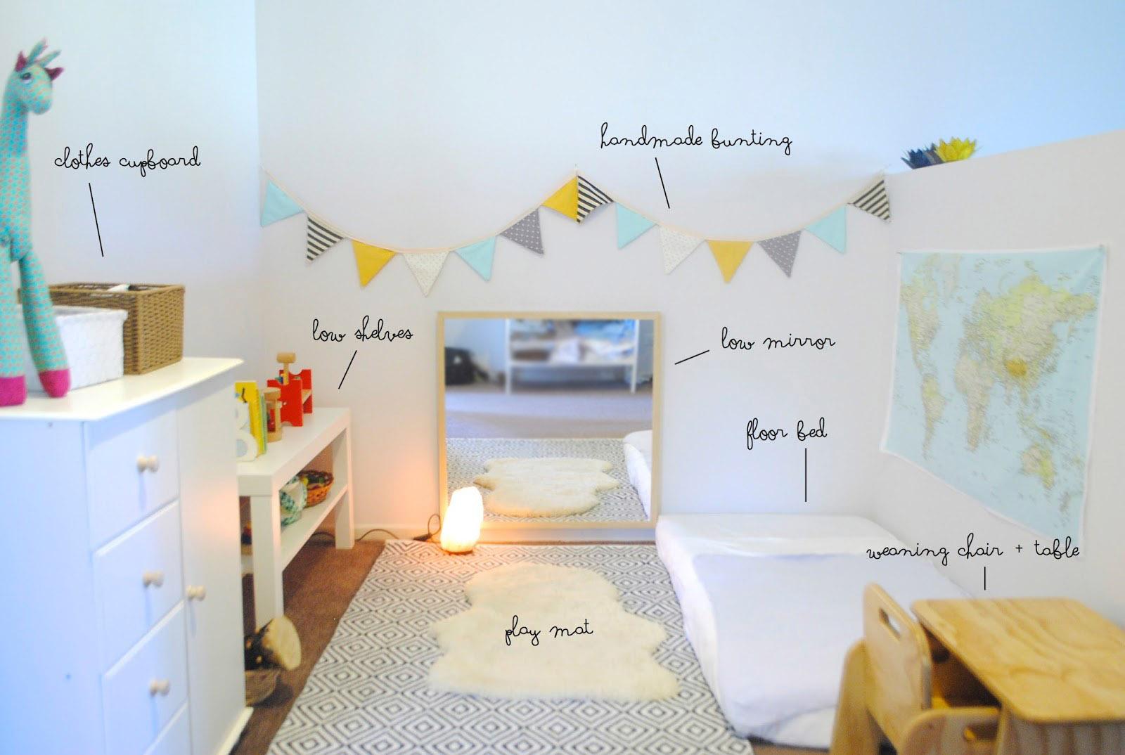 Camere Montessoriane : Camerette ispirate a montessori che mi piacciono montessori la