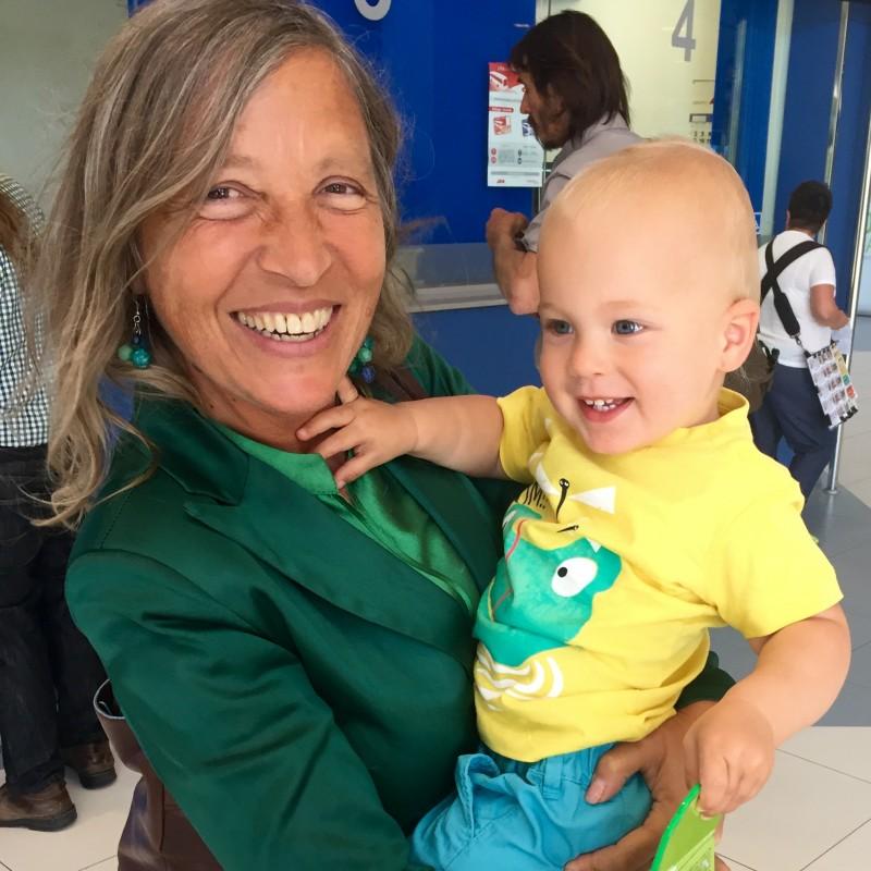 Oliver & nonna Savina