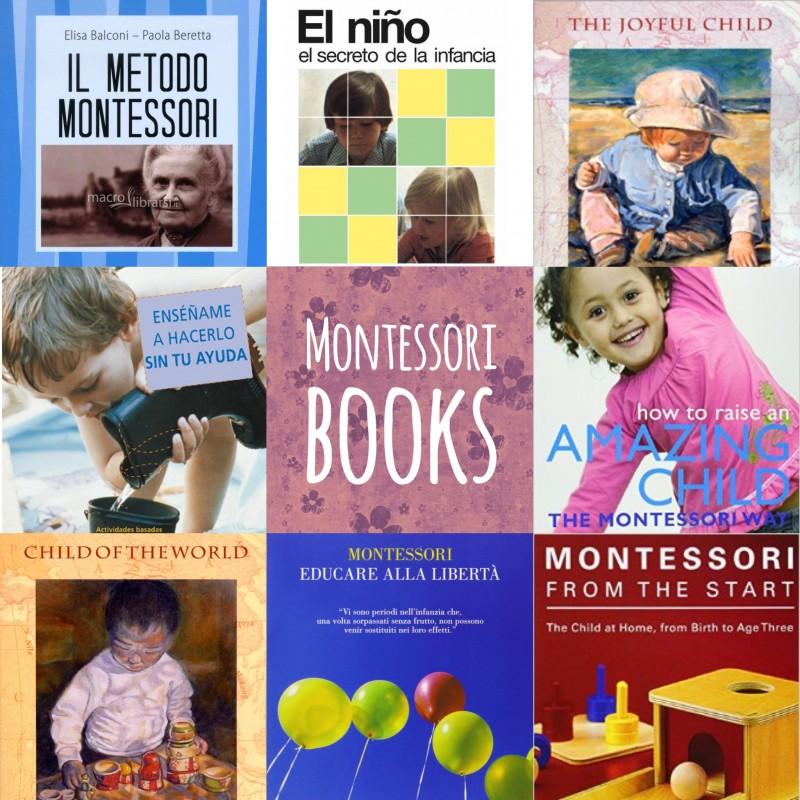 montessori books cover