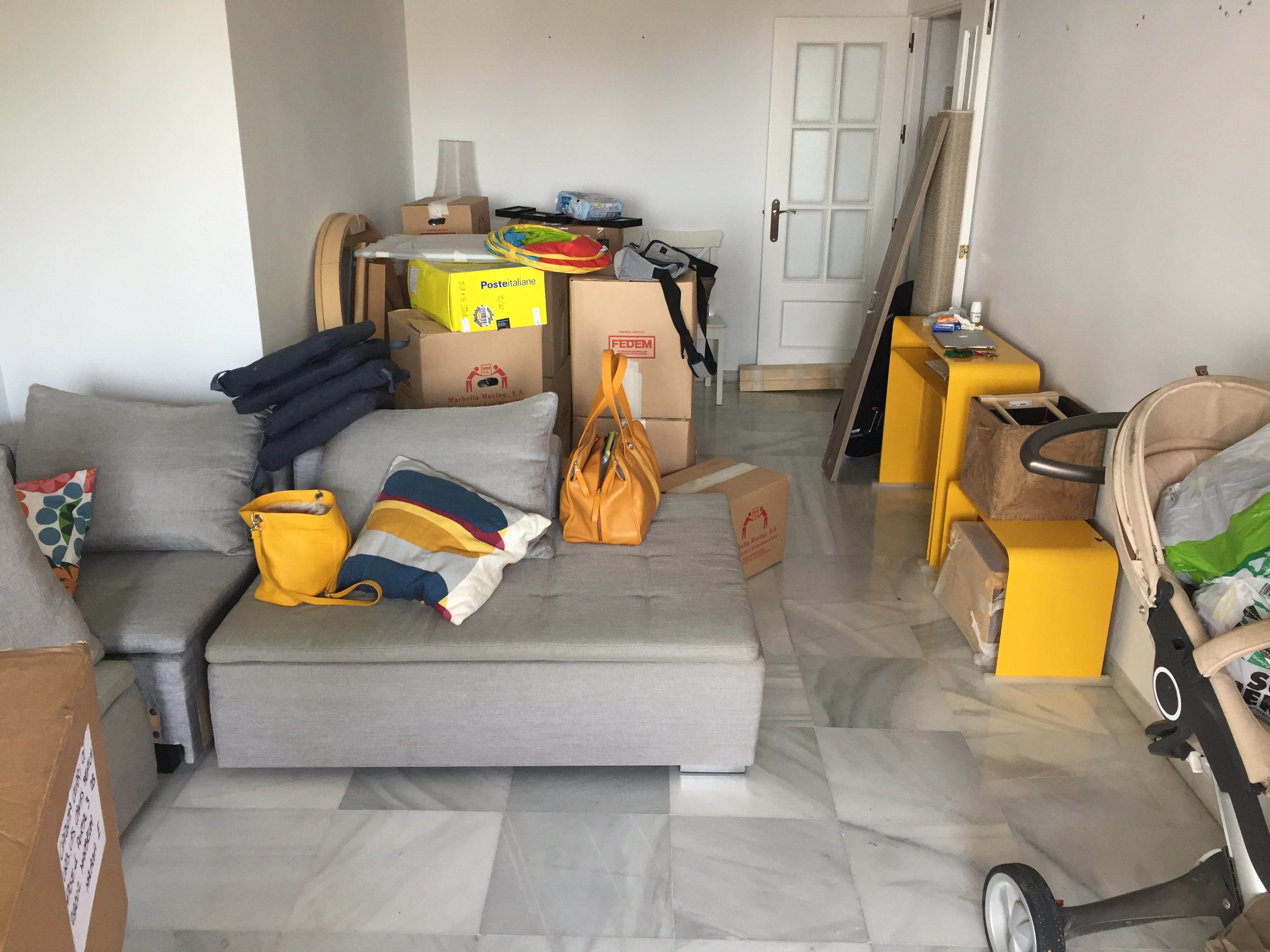 moving new apartment