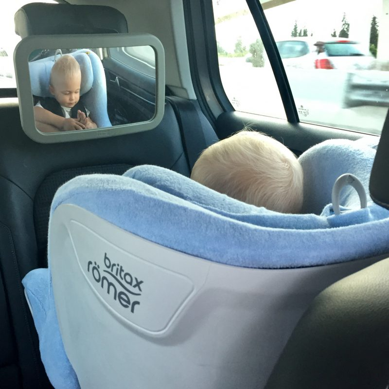 Britax Summer cover + Britax mirror
