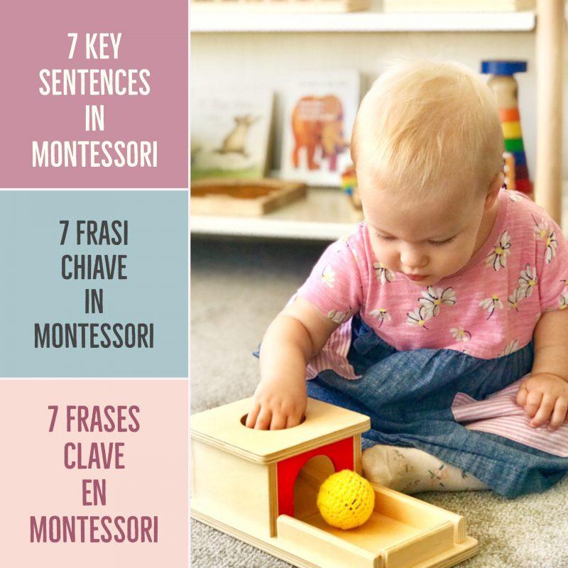 7 Frasi Chiave Che Usano Gli Insegnanti Montessori E Il Perche