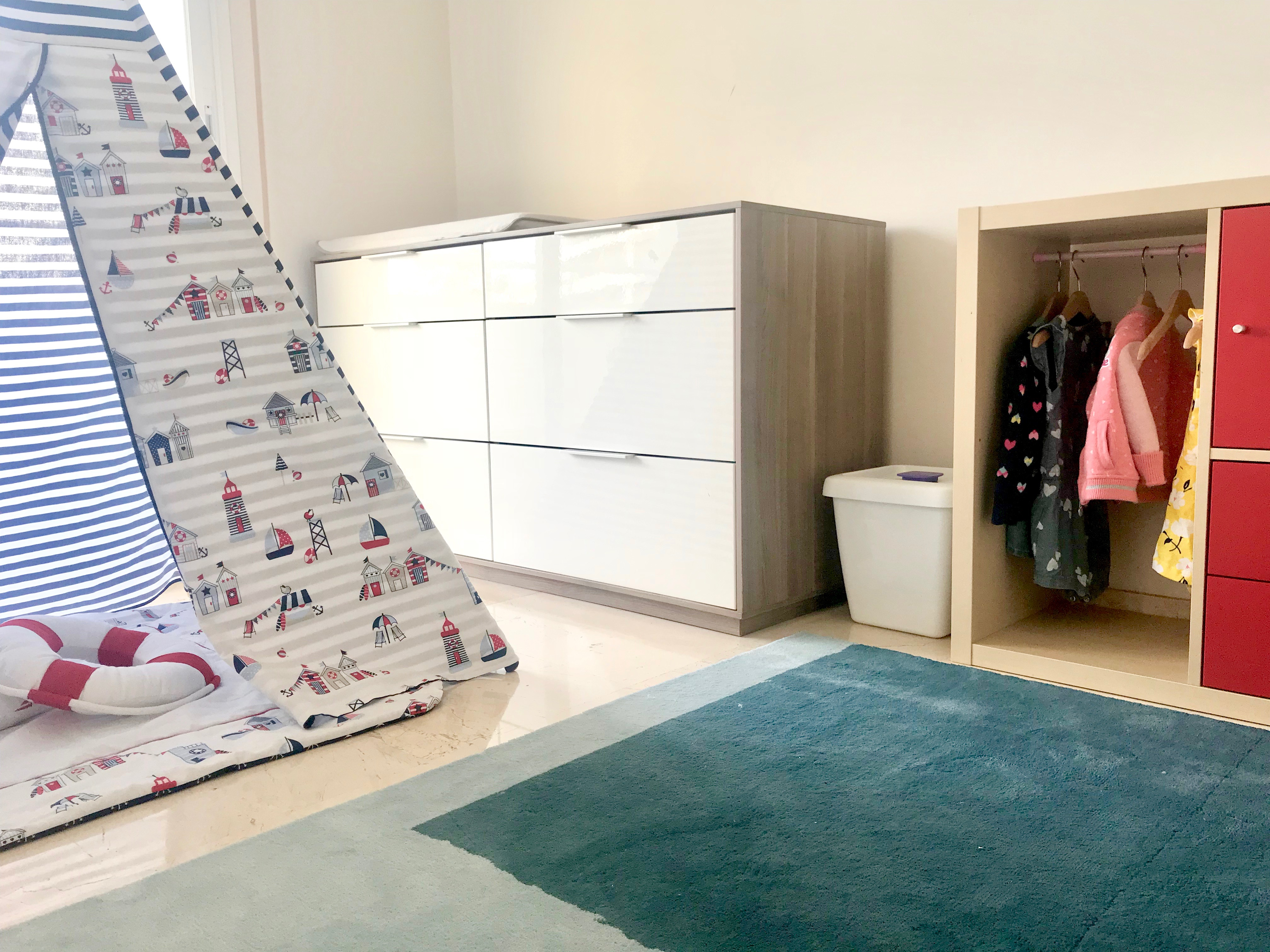 Home tour 2018 il nostro nuovo appartamento ispirato - Portabiancheria sporca ikea ...